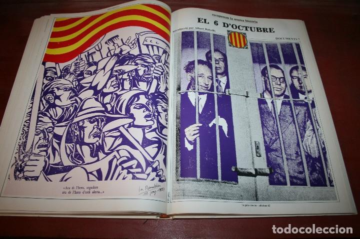 Libros de segunda mano: RECUPEREM LA NOSTRA HISTÒRIA DOCUMENTS 1931-1939 2 VOL. - 1976 - ED. 62 - EN CATALÁN - GRAN FORMATO - Foto 10 - 182225450