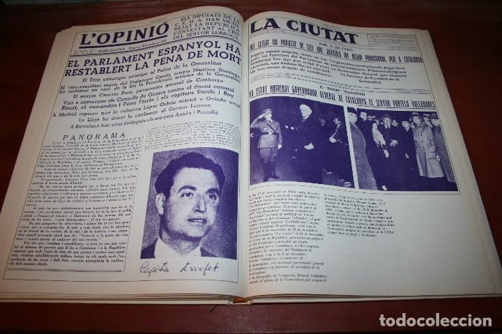 Libros de segunda mano: RECUPEREM LA NOSTRA HISTÒRIA DOCUMENTS 1931-1939 2 VOL. - 1976 - ED. 62 - EN CATALÁN - GRAN FORMATO - Foto 11 - 182225450