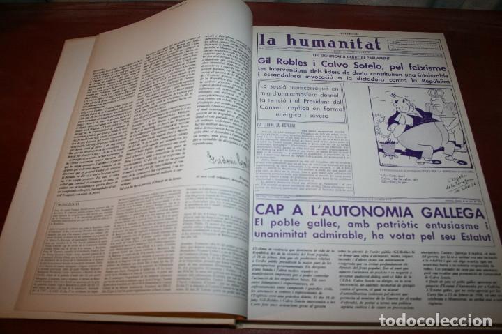 Libros de segunda mano: RECUPEREM LA NOSTRA HISTÒRIA DOCUMENTS 1931-1939 2 VOL. - 1976 - ED. 62 - EN CATALÁN - GRAN FORMATO - Foto 14 - 182225450