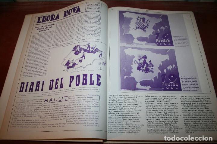 Libros de segunda mano: RECUPEREM LA NOSTRA HISTÒRIA DOCUMENTS 1931-1939 2 VOL. - 1976 - ED. 62 - EN CATALÁN - GRAN FORMATO - Foto 16 - 182225450