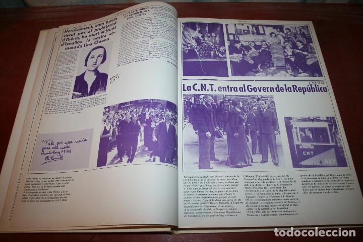 Libros de segunda mano: RECUPEREM LA NOSTRA HISTÒRIA DOCUMENTS 1931-1939 2 VOL. - 1976 - ED. 62 - EN CATALÁN - GRAN FORMATO - Foto 17 - 182225450