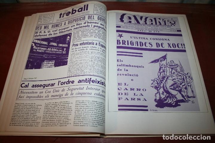 Libros de segunda mano: RECUPEREM LA NOSTRA HISTÒRIA DOCUMENTS 1931-1939 2 VOL. - 1976 - ED. 62 - EN CATALÁN - GRAN FORMATO - Foto 19 - 182225450