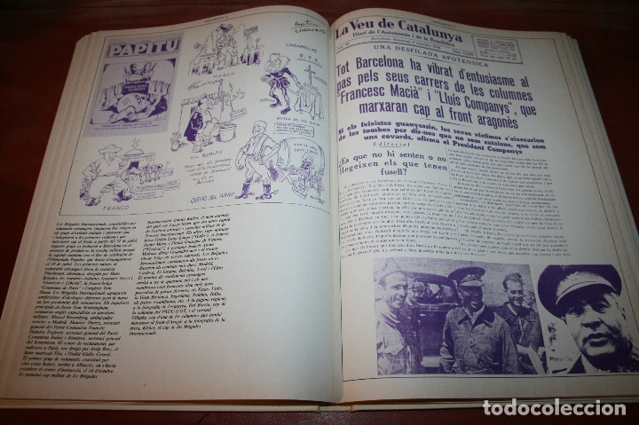 Libros de segunda mano: RECUPEREM LA NOSTRA HISTÒRIA DOCUMENTS 1931-1939 2 VOL. - 1976 - ED. 62 - EN CATALÁN - GRAN FORMATO - Foto 21 - 182225450