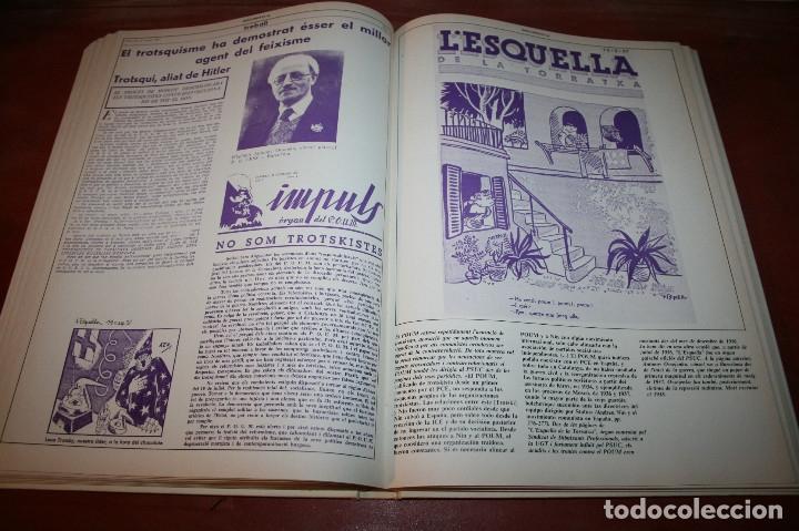Libros de segunda mano: RECUPEREM LA NOSTRA HISTÒRIA DOCUMENTS 1931-1939 2 VOL. - 1976 - ED. 62 - EN CATALÁN - GRAN FORMATO - Foto 24 - 182225450