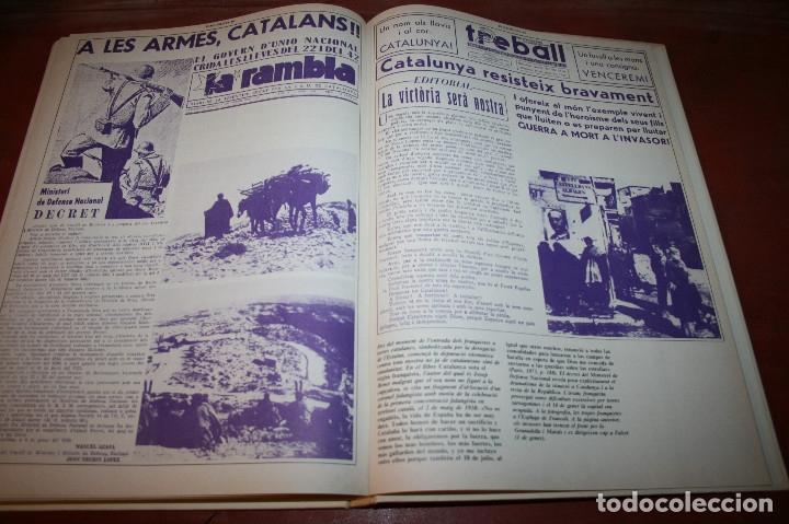Libros de segunda mano: RECUPEREM LA NOSTRA HISTÒRIA DOCUMENTS 1931-1939 2 VOL. - 1976 - ED. 62 - EN CATALÁN - GRAN FORMATO - Foto 28 - 182225450