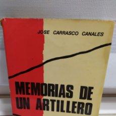 Libros de segunda mano: MEMORIAS DE UN ARTILLERO. Lote 182429475