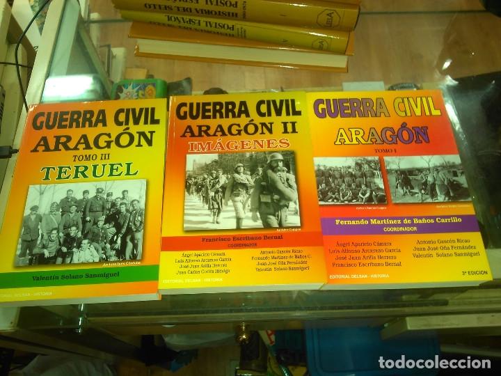VARIOS AUTORES: GUERRA CIVIL. ARAGÓN. TOMO I-II-III (3 VOLS) (Libros de Segunda Mano - Historia - Guerra Civil Española)