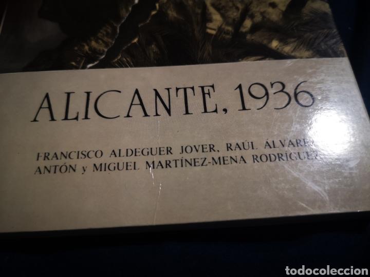 Libros de segunda mano: ALICANTE, 1936 - Foto 2 - 183201445