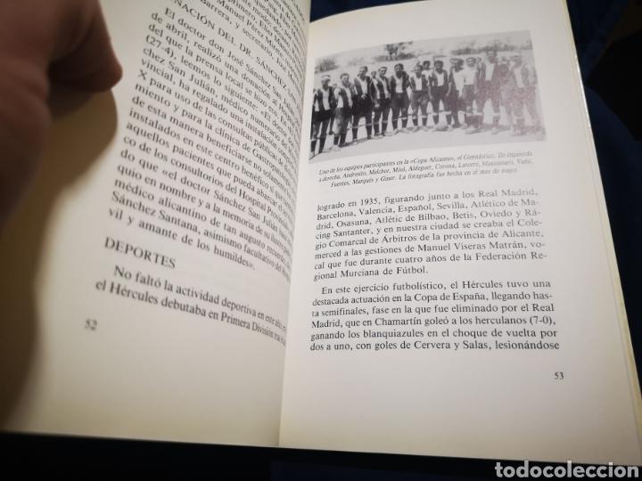 Libros de segunda mano: ALICANTE, 1936 - Foto 4 - 183201445