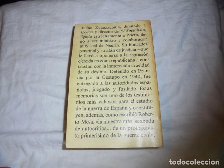 Libros de segunda mano: GUERRA Y VICISITUDES DE LOS ESPAÑOLES.JULIAN ZUGAZAGOITIA.CRITICA GRUPO EDITORIAL GRIJALBO 1977.-3ª - Foto 9 - 183850118