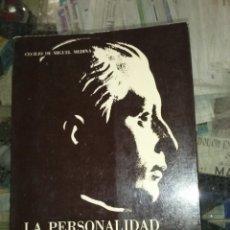 Libros de segunda mano: LA PERSONALIDAD RELIGIOSA DE JOSÉ ANTONIO, CECILIO DE MIGUEL MEDINA,. Lote 187169190