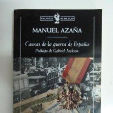 Libros de segunda mano: CAUSAS DE LA GUERRA DE ESPAÑA. MANUEL AZAÑA. 2009. Lote 187215083