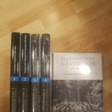Libros de segunda mano: 'EL FRANQUISME A CATALUNYA (1939-1977)'. EDICIONS 62 (5 VOLUMS). Lote 188542640