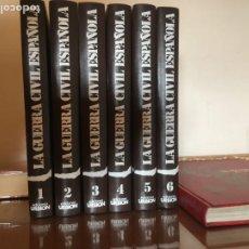 Libros de segunda mano: LA GUERRA CIVIL ESPAÑOLA. HUGH THOMAS. EDICIONES URBION. 6 TOMOS. Lote 190366576