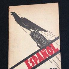 Libros de segunda mano: J. L. DÍEZ. SER... ESPAÑOL. ED. CASALS. BARCELONA. C.1940.. Lote 190795805