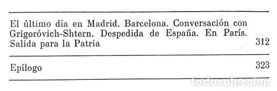 Libros de segunda mano: BAJO EL CIELO DE ESPAÑA // A. RODÍMTSEV // EDITORIAL PROGRESO // 1981 - Foto 4 - 51372555