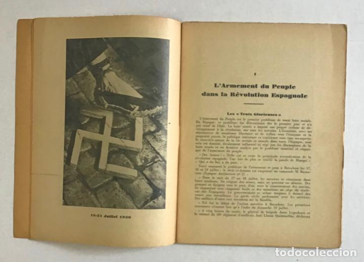 Libros de segunda mano: CATALOGNE, 1936-1937. - PRUDHOMMEAUX, André y Dori. GUERRA CIVIL - Foto 3 - 194000548