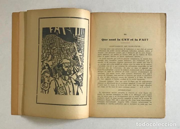 Libros de segunda mano: CATALOGNE, 1936-1937. - PRUDHOMMEAUX, André y Dori. GUERRA CIVIL - Foto 4 - 194000548