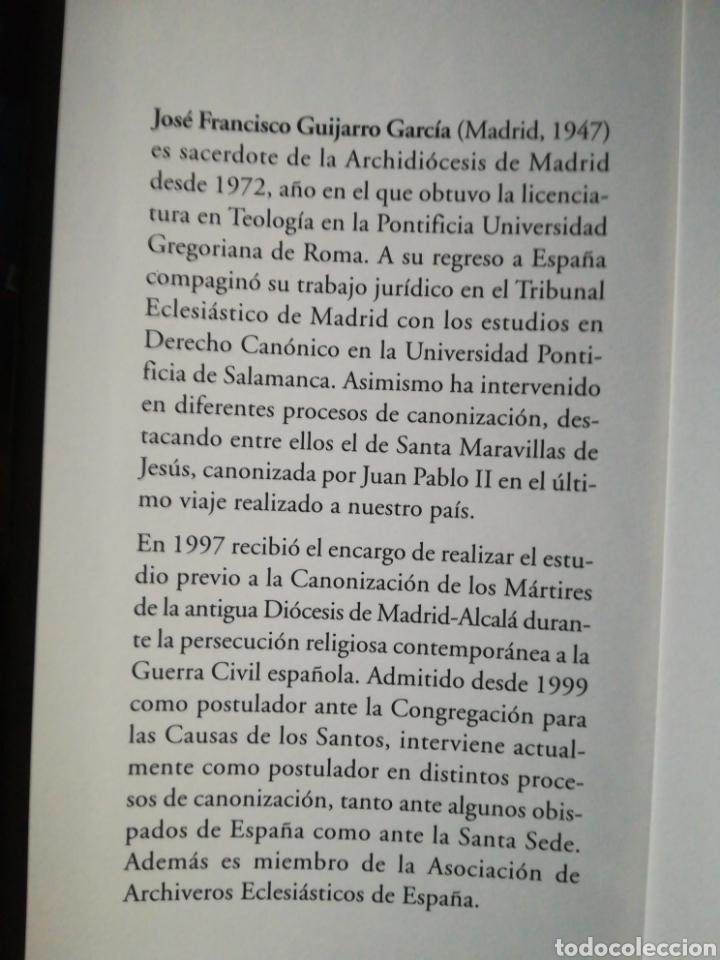 Libros de segunda mano: Persecución religiosa y guerra civil la iglesia en Madrid 1936-1939 José Francisco Guijarro - Foto 3 - 194222136