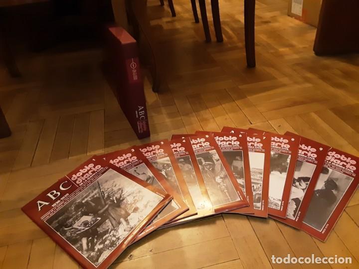 ABC DOBLE DIARIO DE LA GUERRA CIVIL ESPAÑOLA LOTE DE 10 NRS. 1 AL 10 CON CAJA ARCHIVADOR (Libros de Segunda Mano - Historia - Guerra Civil Española)