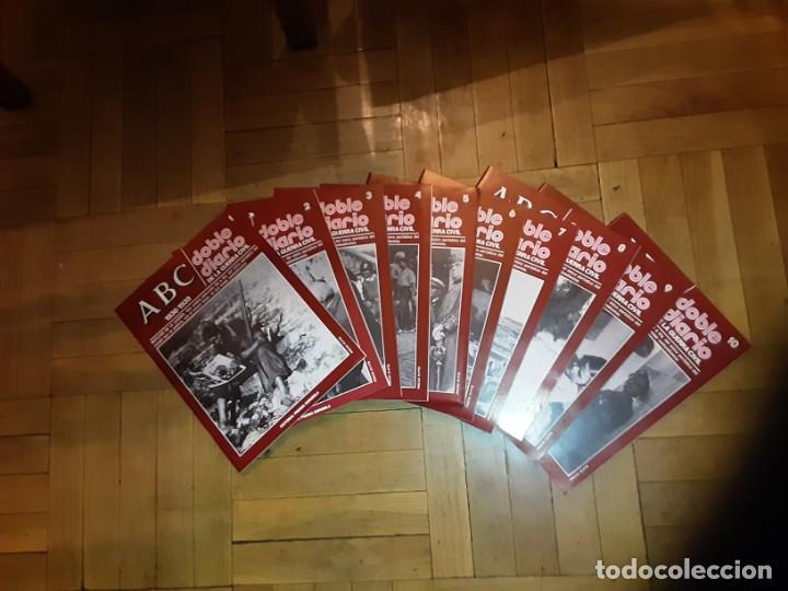 Libros de segunda mano: ABC DOBLE DIARIO DE LA GUERRA CIVIL ESPAÑOLA Lote de 10 nrs. 1 al 10 con caja archivador - Foto 2 - 194227868