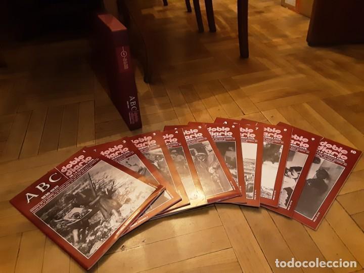 Libros de segunda mano: ABC DOBLE DIARIO DE LA GUERRA CIVIL ESPAÑOLA Lote de 10 nrs. 1 al 10 con caja archivador - Foto 3 - 194227868