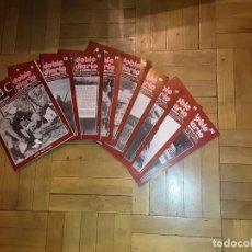 Libros de segunda mano: ABC DOBLE DIARIO DE LA GUERRA CIVIL ESPAÑOLA LOTE DE 9 NRS. 11 AL 18 Y 20. Lote 194229365