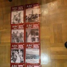 Libros de segunda mano: ABC DOBLE DIARIO DE LA GUERRA CIVIL ESPAÑOLA LOTE DE 8 NRS. 31,32,33,35,37,38,39 Y 40. Lote 194230032