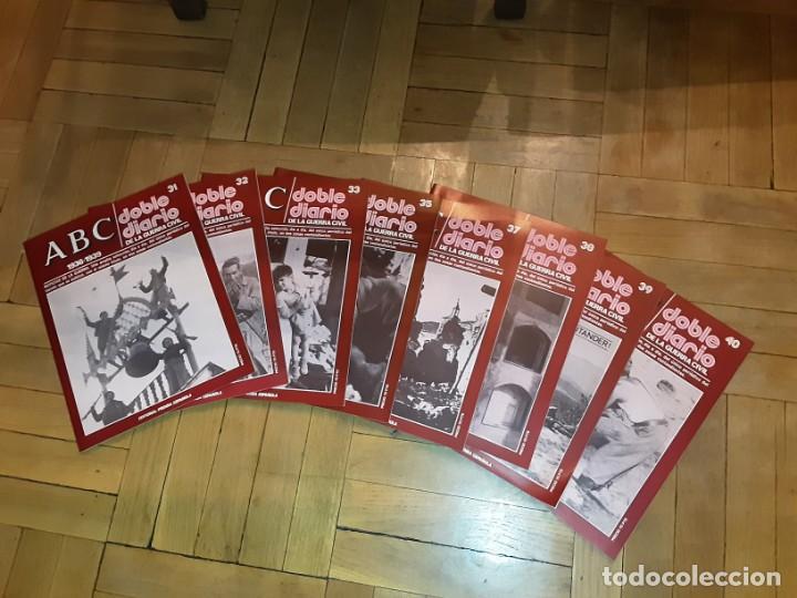 Libros de segunda mano: ABC DOBLE DIARIO DE LA GUERRA CIVIL ESPAÑOLA Lote de 8 nrs. 31,32,33,35,37,38,39 y 40 - Foto 2 - 194230032
