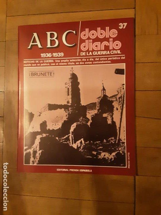 ABC DOBLE DIARIO DE LA GUERRA CIVIL ESPAÑOLA NR. 37 BRUNETE (Libros de Segunda Mano - Historia - Guerra Civil Española)