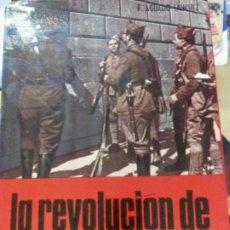 Libros de segunda mano: LA REVOLUCION DE OCTUBRE DE 1934 FRANCISCO AGUADO SANCHEZ EDIT SAN MARTIN AÑO 1972. Lote 194313351