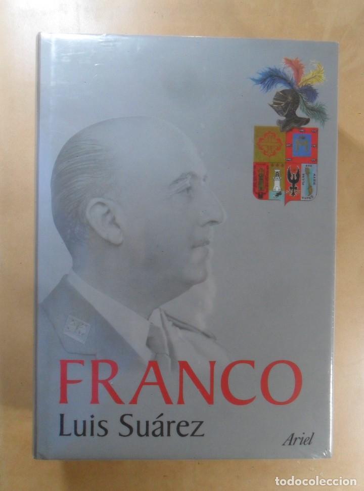 FRANCO - LUIS SUAREZ - ED. ARIEL ** PRECINTADO (Libros de Segunda Mano - Historia - Guerra Civil Española)
