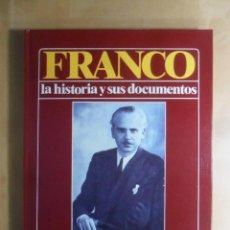 Libros de segunda mano: FRANCO - LA HISTORIA Y SUS DOCUMENTOS (6) - LA CAIDA DE SERRANO SUÑER - LUIS SUAREZ - URBION - 1986. Lote 194512456