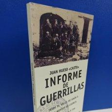 Libros de segunda mano: LIBRO INFORME DE GUERRILLAS JUAN GOMEZ CASTO. Lote 194715475
