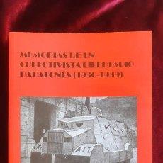 Libros de segunda mano: MEMORIAS DE UN COLECTIVISTA LIBERTARIO BADALONÉS (1936-1939) - JOSEP COSTA FONT - CENTRE FEDERICA MO. Lote 195288841
