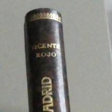 Libros de segunda mano: ASÍ FUE LA DEFENSA DE MADRID.GENERAL VICENTE ROJO.EDITORIAL ERA. PRIMERA EDICIÓN. 1967. ENCUADERNADO. Lote 195426921
