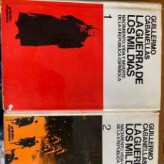 Libros de segunda mano: LA GUERRA DE LOS MIL DÍAS (2 TOMOS). Lote 195852511
