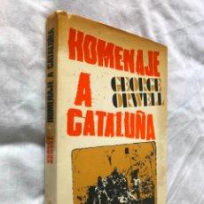 Libros de segunda mano: HOMENAJE A CATALUÑA DE GEORGE ORWELL, ARIEL 1970. Lote 197425091