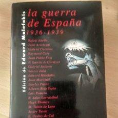 Libros de segunda mano: LA GUERRA DE ESPAÑA, 1936-1939 EDWARD MALEFAKIS. Lote 48677206
