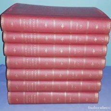 Libros de segunda mano: 7 TOMOS HISTORIA DE LA CRUZADA ESPAÑOLA EDICIONES ESPAÑOLAS AÑO 1939 1ª EDICION EXCELENTE COMPLETA. Lote 197468566