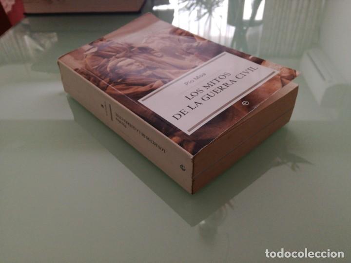 Libros de segunda mano: LOS MITOS DE LA GUERRA CIVIL. PIO MOA. 2004. - Foto 2 - 197822906