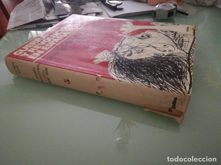 Libros de segunda mano: GUERRA Y REVOLUCIÓN EN ESPAÑA, 1936-1939. TOMO V. GEORGES SORIA. 1978. - Foto 2 - 198026608