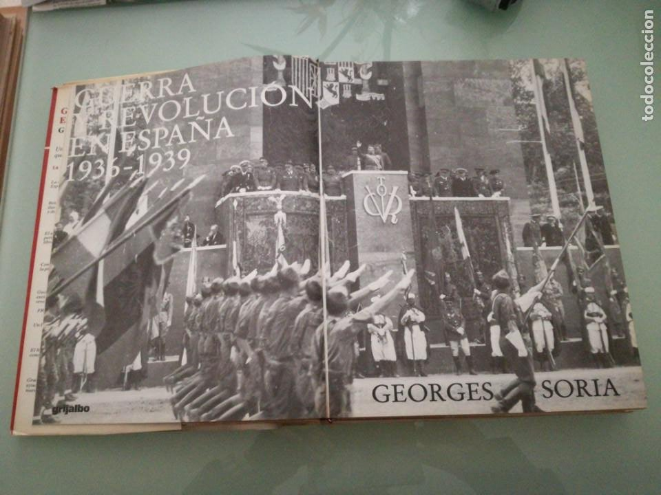 Libros de segunda mano: GUERRA Y REVOLUCIÓN EN ESPAÑA, 1936-1939. TOMO V. GEORGES SORIA. 1978. - Foto 4 - 198026608