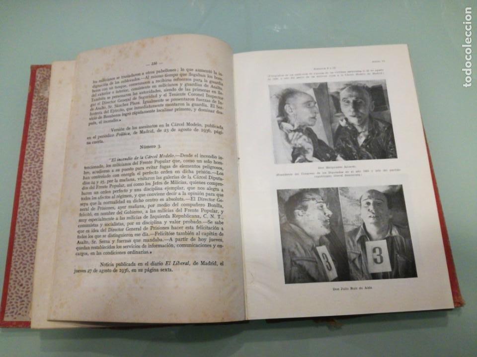 Libros de segunda mano: CAUSA GENERAL. LA DOMINACIÓN ROJA EN ESPAÑA. 1945. - Foto 5 - 198038933