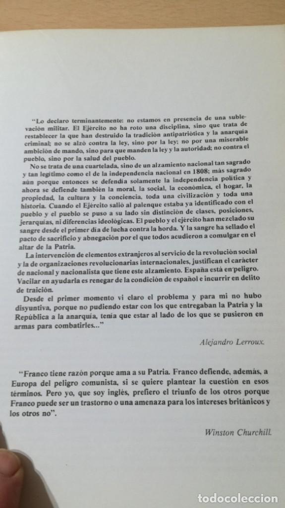 Libros de segunda mano: FRANCISCO FRANCO Y SU TIEMPO - JUAN ALARCON BENITOÑ 102 - Foto 6 - 198498321