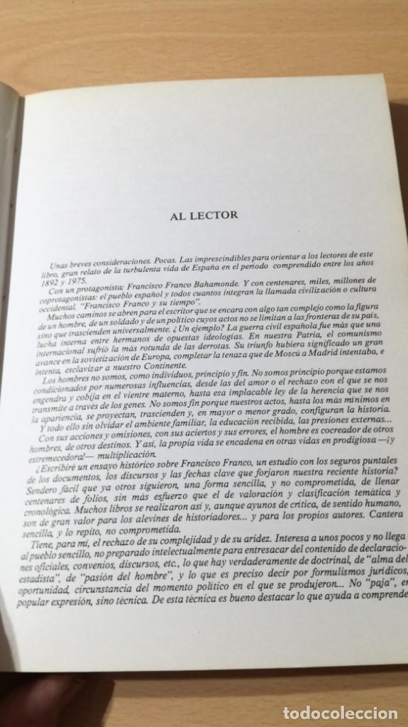 Libros de segunda mano: FRANCISCO FRANCO Y SU TIEMPO - JUAN ALARCON BENITOÑ 102 - Foto 7 - 198498321
