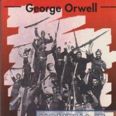 Libri di seconda mano: HOMENAJE A CATALUÑA DE GEORGE ORWELL EDITORIAL VIRUS. Lote 199250817
