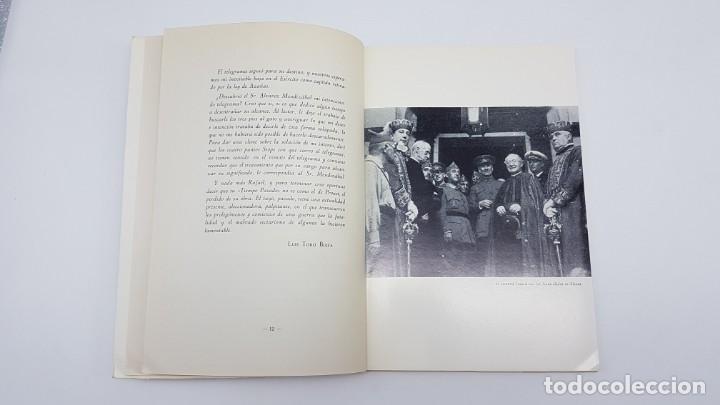 Libros de segunda mano: TIEMPO PASADO ( RELATO GUERRA CIVIL ) DUQUE MEDINACELI, SEVILLA 1971 - Foto 8 - 199826146