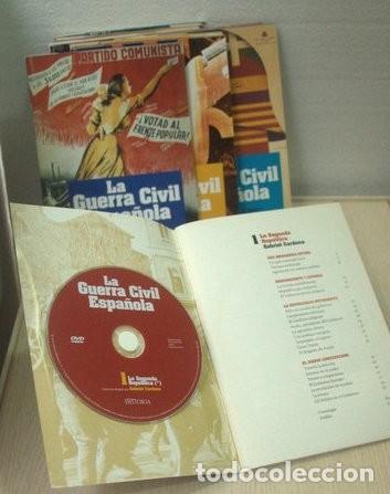 Libros de segunda mano: LA GUERRA CIVIL ESPAÑOLA - CARDONA, Gabriel. (12 libros con DVD) - Foto 4 - 153063653