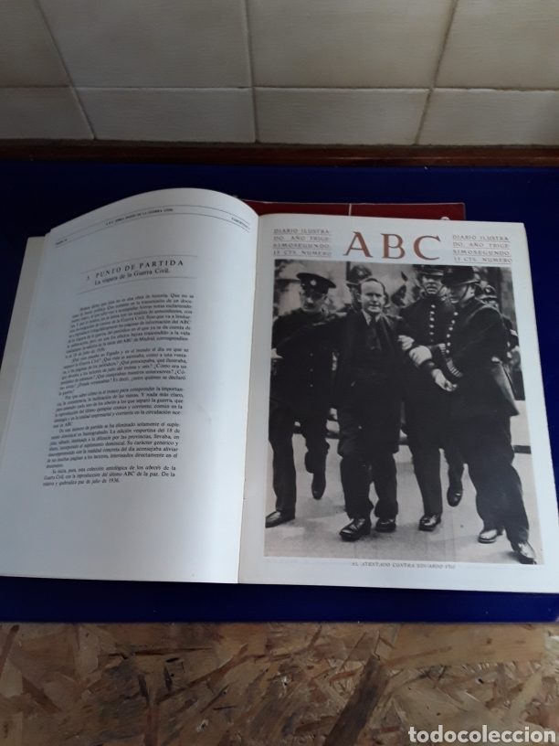 Libros de segunda mano: 16 antiguas revistas ABC doble diario de la guerra civil 1936-1939 - Foto 2 - 201658706